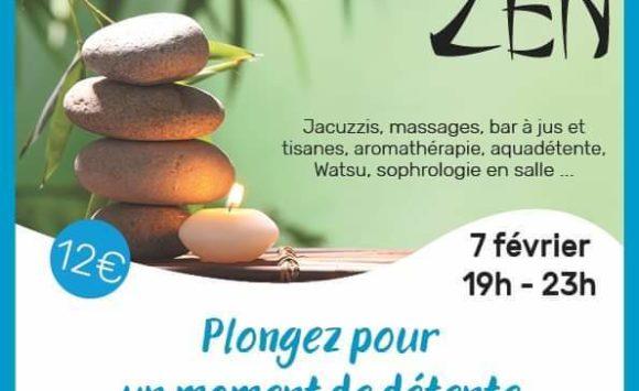 Soirée ZEN à Aqualac sur Aix les Bains le 7 Février – 19h