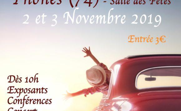 """Salon """"Salon Z'arts Zen"""" à Thônes les 2 et 3 Novembre 2019"""
